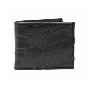 NWT Men's bifold wallet upcycle rubber handmade